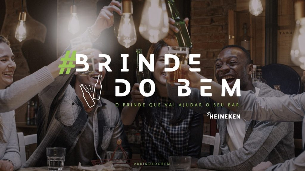Heineken apoia bares com Brinde do Bem   Clube de Criação